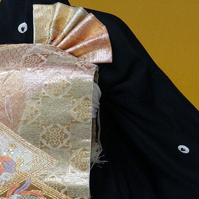 家紋付きの着物