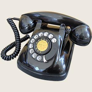 黒電話4号電話機